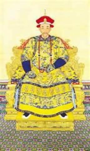 The ruling of Kangxi