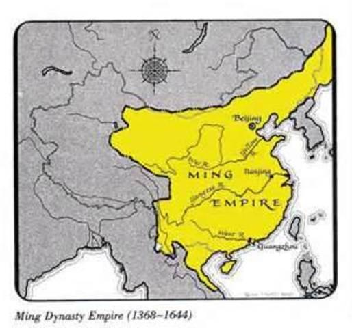 Ming dynasty soon decine