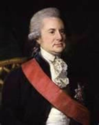 British official Lord George Macartney discussed trade