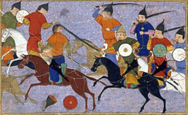 Mongols Take On China