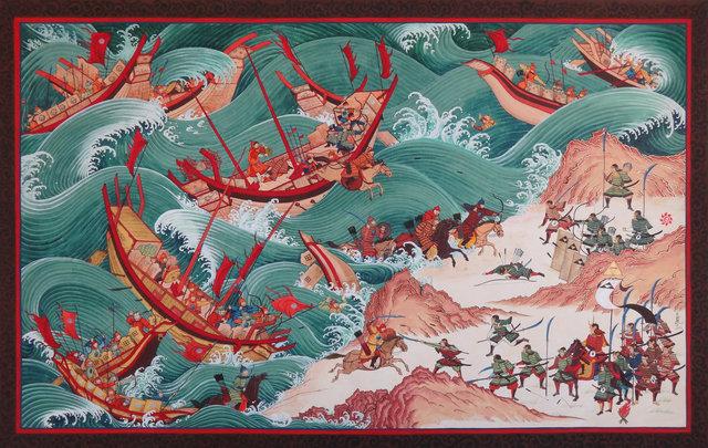 Mongols Invade Japan (and fail)