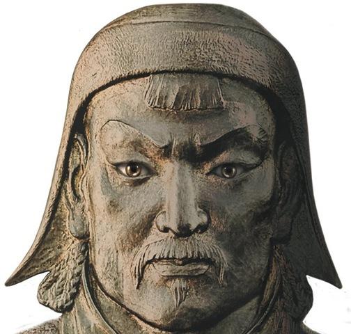 Genghis Khan emerges