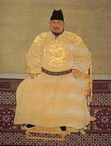 Hongwu and his efforts