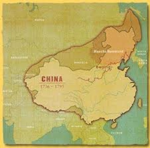 China at its largest