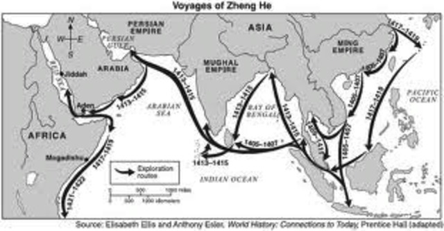 Zheng He's Voyages End