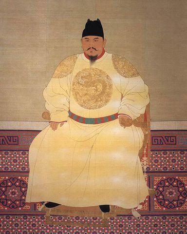 Hongwu's death