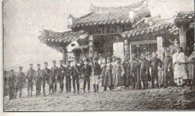 The Manchu Take Beijing