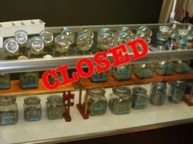 Dispensaries within 100 ft. of a school ordered to shut down