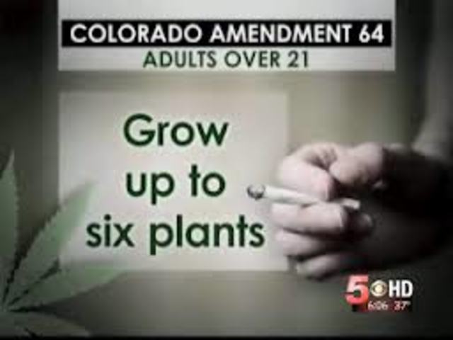 Amendment 64 passed in Colorado