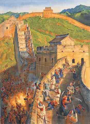 Mongol's return