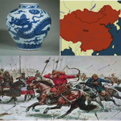 Mongols, Ming and Qing Dynasties timeline