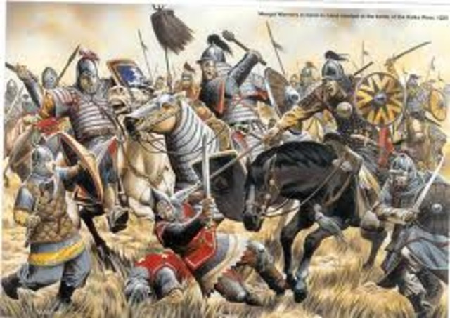 Mongols On The Move