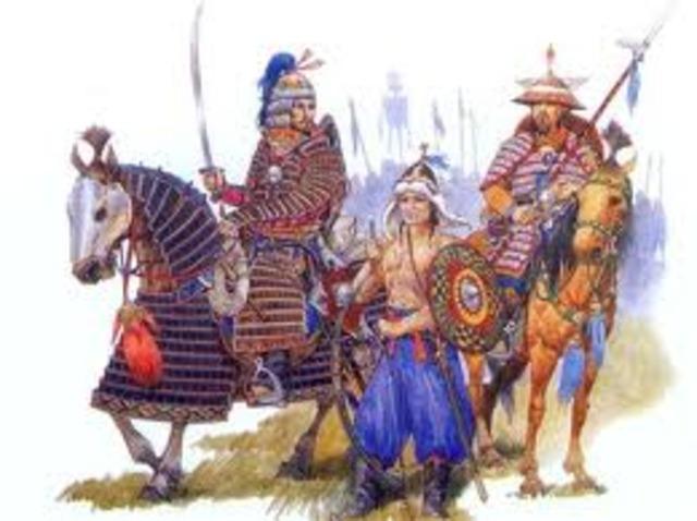 Mongols Invade China