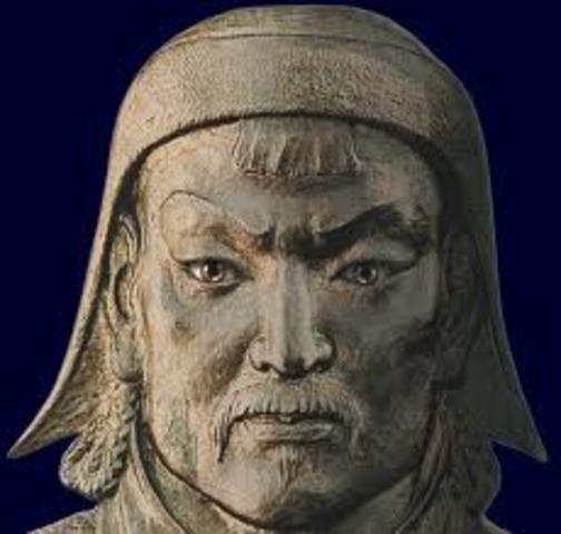 Khan Temijin begins to unite clans