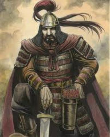 Genghas Khan Dies