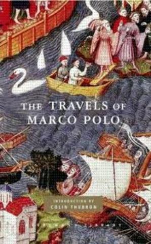 Marco Polo Writes Book
