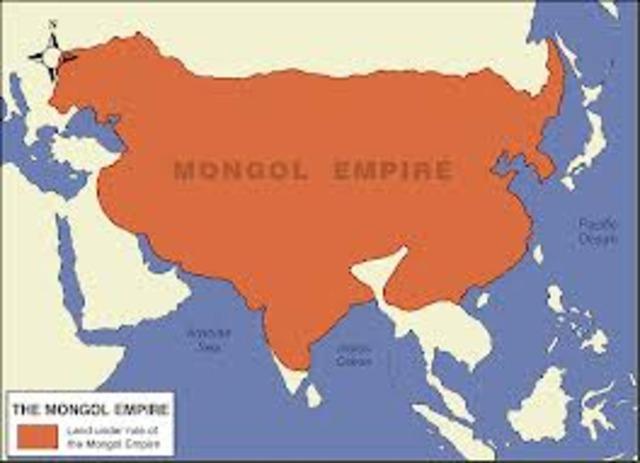 Mongols Retreat