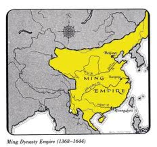 Begins Ming Dynasty