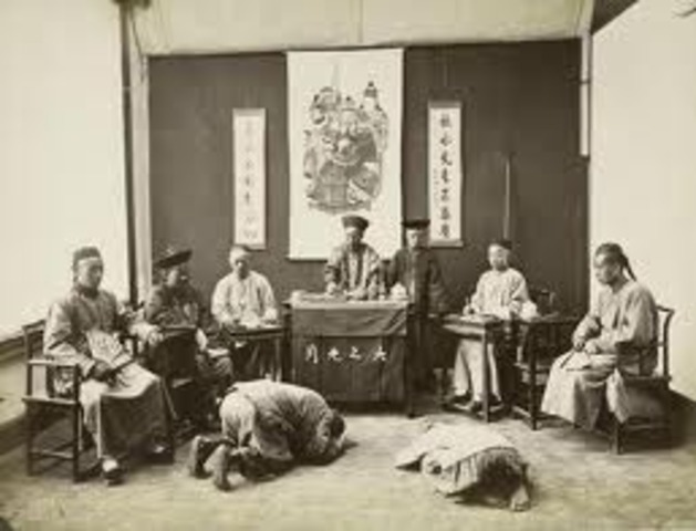 Qing Dynasty Ends