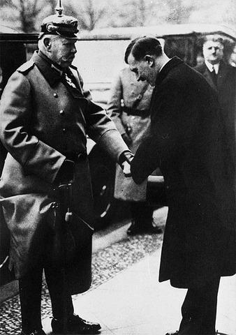 Adolf Hitler is appointed chancellor by German President Paul von Hindenburg