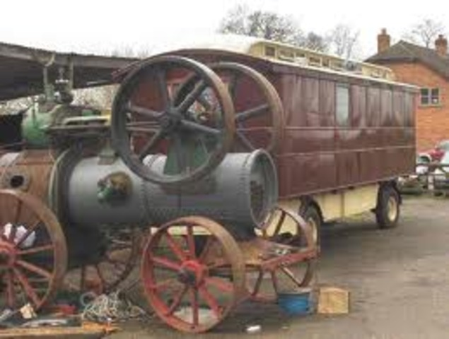 steam-powered caraige