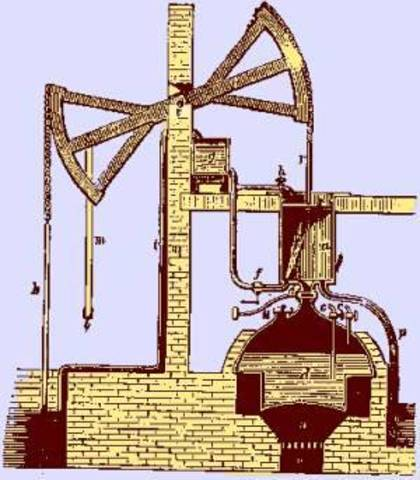 First Commercial Steam Engine Was Produced