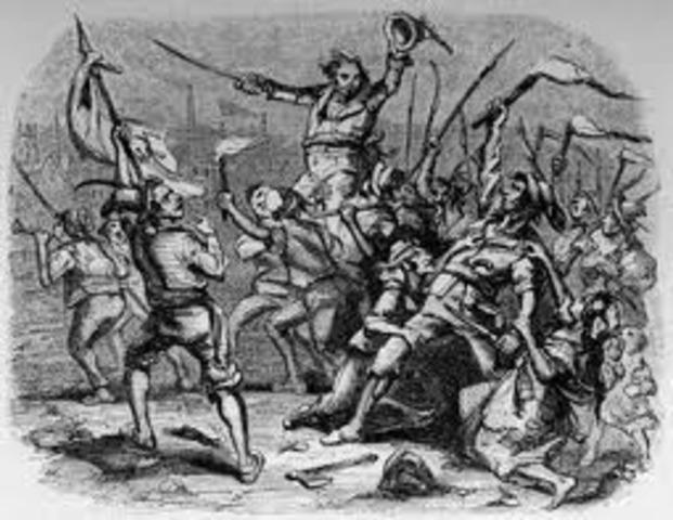 Luddites riot