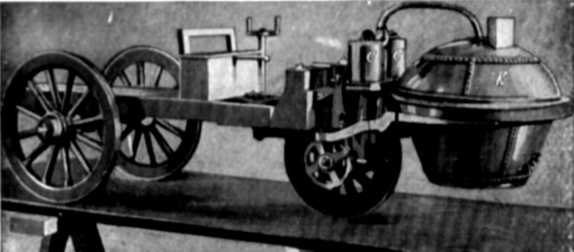 The first steam-powered engine is invented