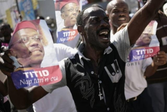 Golpe de Estado Haití.