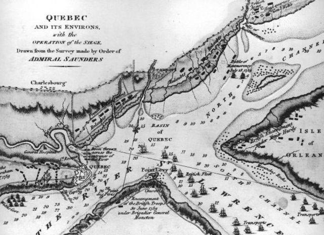British take over Quebec