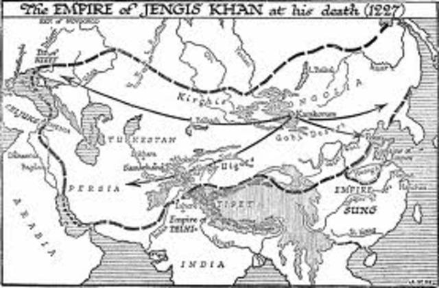 Genhig Khan's Death