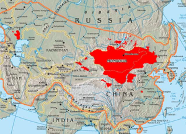 Mongols Appear