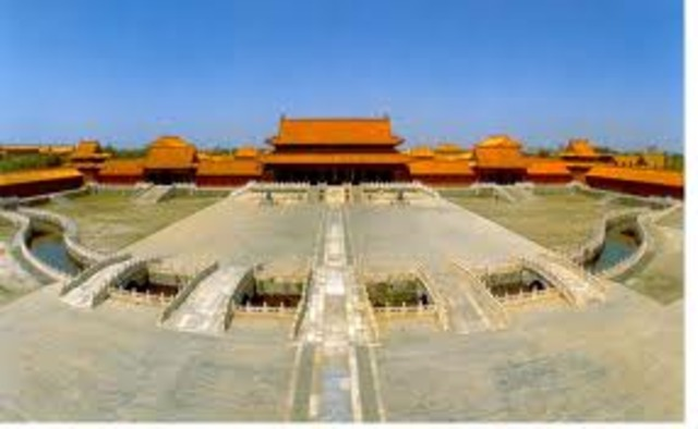 Forbidden City is Built