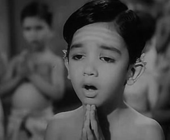 Kamal's 1st movie Kalathur Kannamma