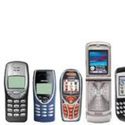 Evolución de la telefonía movil timeline