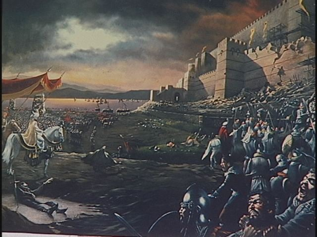 Fall of Constantinople to the Turks