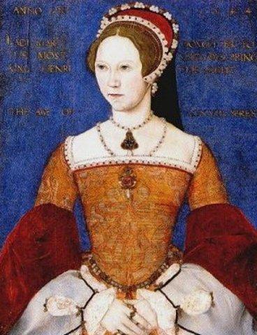 Mary I becones Queen