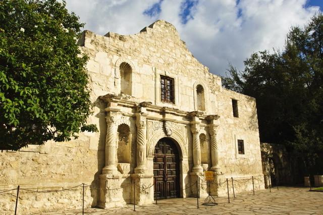 The Battle of the Alamo.