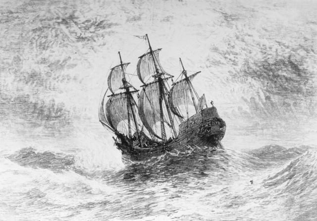 Pilgrims Found Plymouth Colony