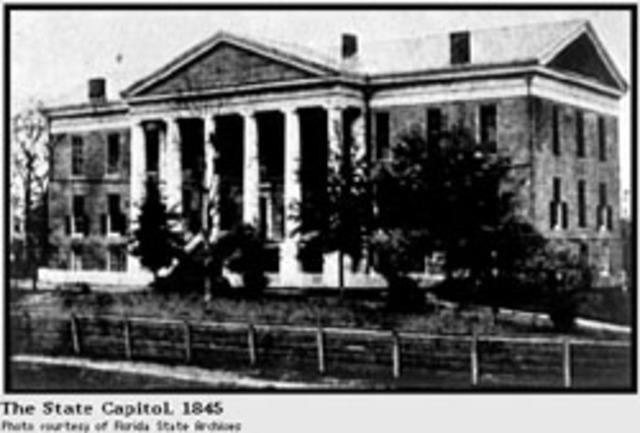 Capitol Built 1845