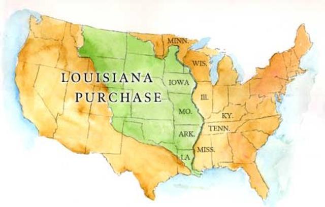 Louisiana Purchase!