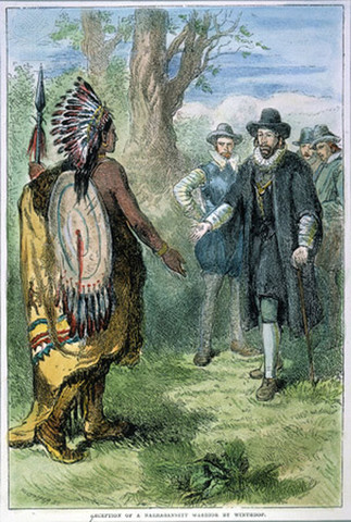 Puritans Found Massachusetts Bay Colony