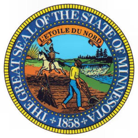Minnesota becomes a state