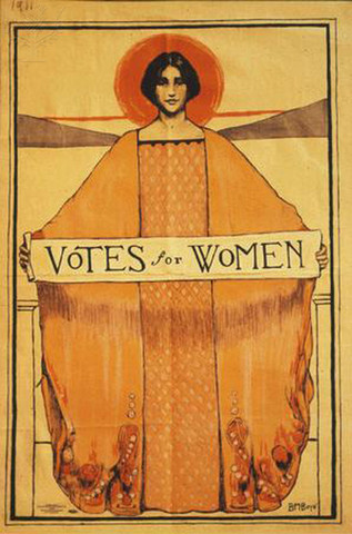 A law is passed that women can vote in state eletions!
