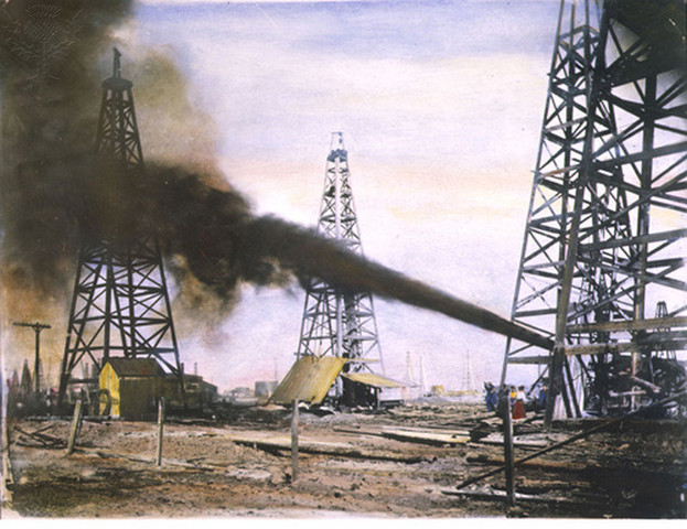 Oil is Discovered at Spindletop
