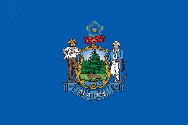 Maine separates from Massachusetts and becomes a state