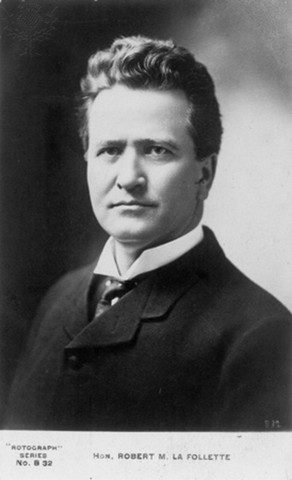 Robert M. La Follette was elected Governor of WI.