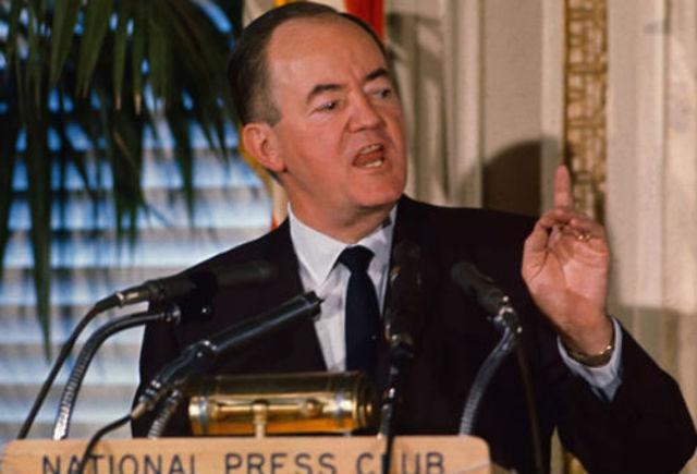Hubert H. Humphrey Metrodome becomes vice president
