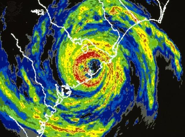 Hurricane Hugo Hits!