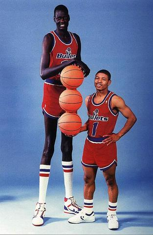 Tallest Player to ever play in the NBA